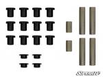 Усиленные втулки рычагов с металлическими пальцами передние Super ATV для Polaris RZR 1000XP (AAB-P-RZR1K-D)