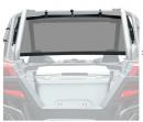 Сетка задняя Kemimoto для Polaris RZR PRO XP 2020 B0112-01201BK