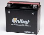 Аккумулятор UNIBAT YTX20H-BS (YTX20-BS)