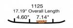 Коньки для снегохода Polaris IQ Widetrak / Indy 550 / RMK / Switchback / Widetrak LX / 2875723 / EPI3-1125 / WPI-1125