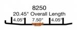 Коньки для снегохода Ski-Doo Formula / Grand Touring / Legend / Mach-Z / MXZ / Skandic / Summit / Touring / 505069120 / 415063000 / M5347354 / 860501900 / ESD3-8250 / WSD-8250