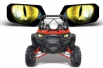 Наклейки на фары AMR HEAD LIGHT EYE GRAPHIC DECAL COVER для POLARIS RZR 800 900XP