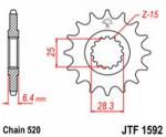 Звезда квадроцикла передняя JT 13 зубов на Yamaha YFM700 Raptor, YFZ450