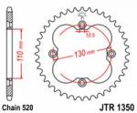 Звезда квадроцикла задняя 39 зубов Honda TRX 450/400/300/250 JTR1350.39