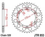 Звезда задняя 42 зуба Yamaha Raptor 660, Warrior 350, Blaster 200, Banshee 350 JT JTR853.42