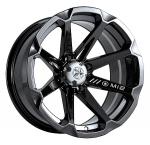 Колесные диски MSA M12 Black Diesel