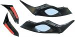 Зеркала для снегохода (комплект) Yamaha RS/ RX SM-12356 54-10180 SMA-8FA77-00-00
