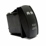 Кнопка (выключатель) Rear Led Lights W002
