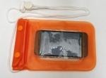 Водонепроницаемый чехол с Zip-Lock (оранжевый)